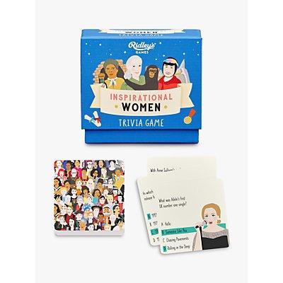 Ridleys Inspirational Women Trivia Game