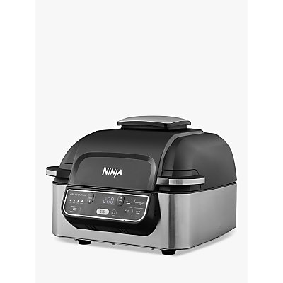 Ninja AG301UK Health Grill and Air Fryer, Grey