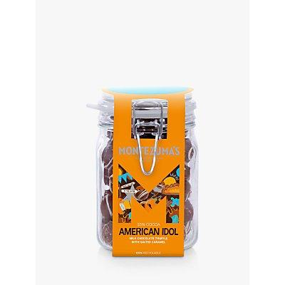 Montezuma's American Idol Milk Chocolate with Salted Caramel Truffle Jar, 600g