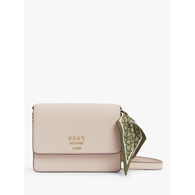 DKNY Liza Leather Small Shoulder Bag, Cashmere