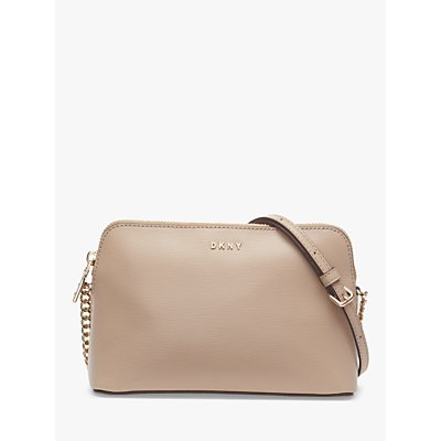 DKNY Bryant Dome Leather Cross Body Bag