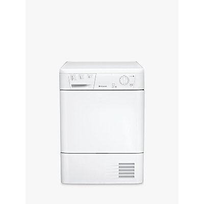 Hotpoint FETC70BP Condenser Tumble Dryer, 7kg, B Energy Rating, Polar White