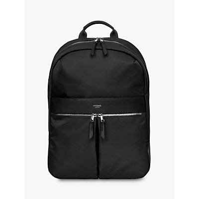 KNOMO Mayfair Beauchamp 2 0 Backpack for 14 Laptops  Black - 5055385430565