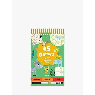 45 Games Animal Fun Children's Book