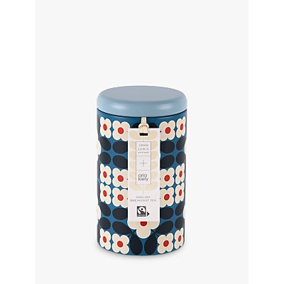 Orla Kiely Fairtrade English Breakfast Tea Bags, 50g