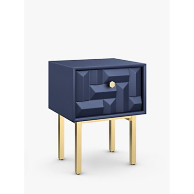 John Lewis   Partners Show Wood Storage Bedside Table - 5059139539603