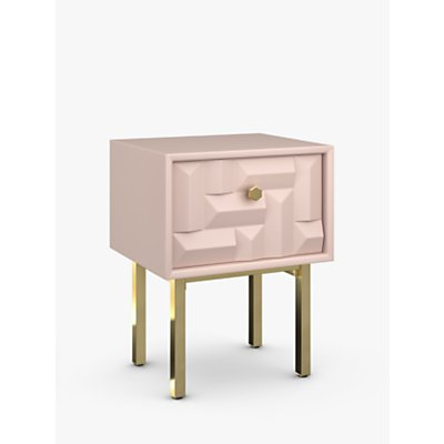 John Lewis   Partners Show Wood Storage Bedside Table - 5059139539627