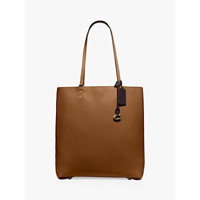 Coach Plaza Leather Tote Bag