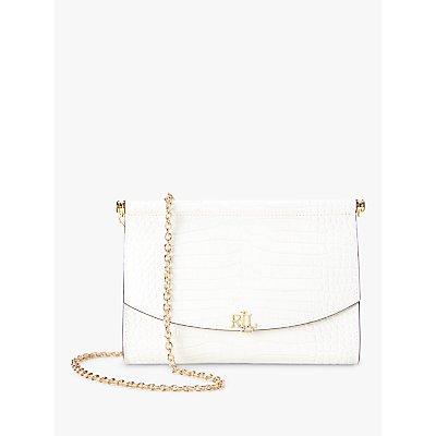 Lauren Ralph Lauren Prescott 22 Leather Clutch Bag