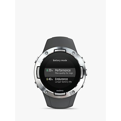 SUUNTO 5, Multisport Watch with GPS and Wrist-based Heart Rate Technology