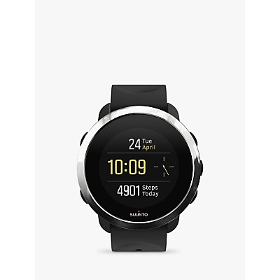 SUUNTO 3 FITNESS, Multisport Watch with Wrist-based Heart Rate Technology, All Black