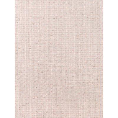 John Lewis & Partners Basket Weave Vinyl Wallpaper, Pink
