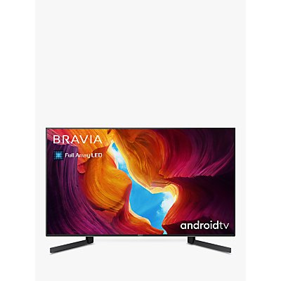 Sony Bravia KD49XH9505 (2020) LED HDR 4K Ultra HD Smart Android TV, 49 inch with Freeview HD, Youview & Dolby Atmos, Black