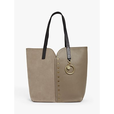 See By Chloé Gaia Small Suede Leather Tote Bag