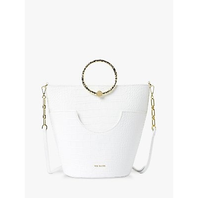 Ted Baker Maisee Leather Bucket Bag