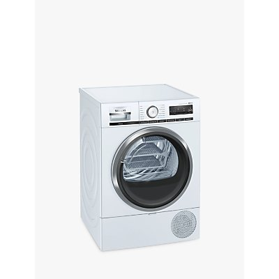 Siemens WT48XRH9GB Heat Pump Tumble Dryer with Wi-Fi, 9kg Load, A+++ Energy Rating, White