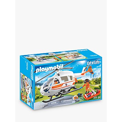 Playmobil City Life 70048 Rescue Helicopter