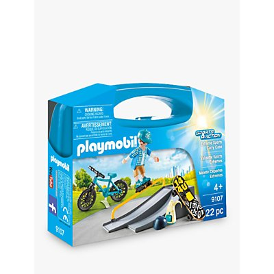Playmobil Sports & Action 9107 Extreme Sports Carry Case