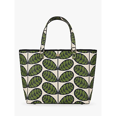 Orla Kiely More is More Tote Bag, Fern