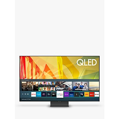 Samsung QE85Q95T (2020) QLED HDR 2000 4K Ultra HD Smart TV, 85 inch with TVPlus/Freesat HD, Black
