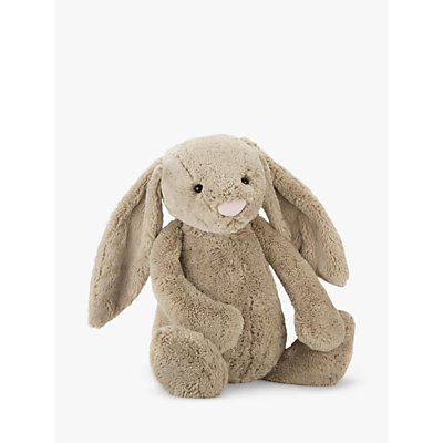 Jellycat Bashful Bunny Soft Toy, Huge, Beige