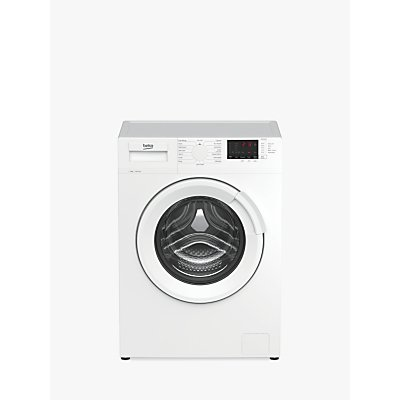 Beko WTL9413W Freestanding Washing Machine, 9kg Load, A+++ Energy Rating, 1400rpm Spin, White