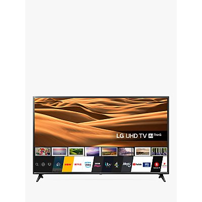 LG 65UM7050PLA (2020) LED HDR 4K Ultra HD Smart TV, 65 inch with Freeview Play/Freesat HD, Ceramic Black