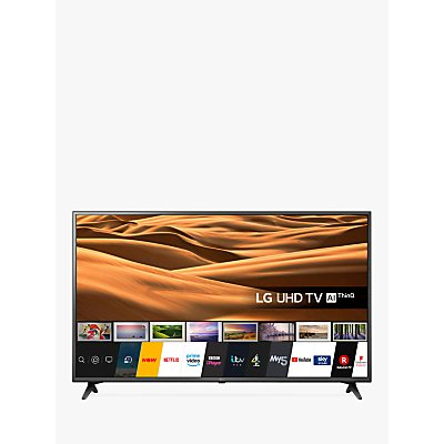 LG 55UM7050PLC (2020) LED HDR 4K Ultra HD Smart TV, 55 inch with Freeview Play/Freesat HD, Ceramic Black