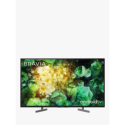 Sony Bravia KD49XH8196 (2020) LED HDR 4K Ultra HD Smart Android TV, 49 inch with Freeview HD & Youview, Black