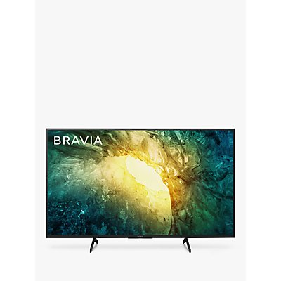 Sony Bravia KD49X7053 (2020) LED HDR 4K Ultra HD Smart TV, 49 inch with Freeview Play, Black