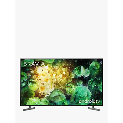 Sony Bravia KD55XH8196 (2020) LED HDR 4K Ultra HD Smart Android TV, 55 inch with Freeview HD & Youview, Black