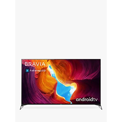 Sony Bravia KD55XH9505 (2020) LED HDR 4K Ultra HD Smart Android TV, 55 inch with Freeview HD, Youview & Dolby Atmos, Black