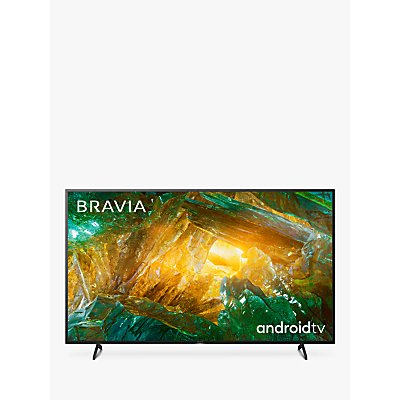 Sony Bravia KD75XH8096 (2020) LED HDR 4K Ultra HD Smart Android TV, 75 inch with Freeview HD & Youview, Black