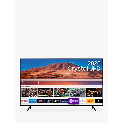 Samsung UE75TU7000 (2020) HDR 4K Ultra HD Smart TV, 75 inch with TVPlus, Black