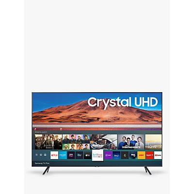 Samsung UE55TU7100 (2020) HDR 4K Ultra HD Smart TV, 55 inch with TVPlus, Silver