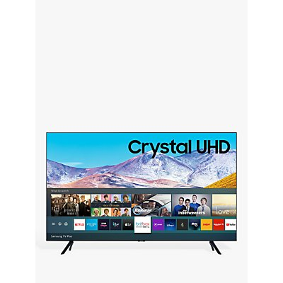 Samsung UE43TU8000 (2020) HDR 4K Ultra HD Smart TV, 43 inch with TVPlus, Black