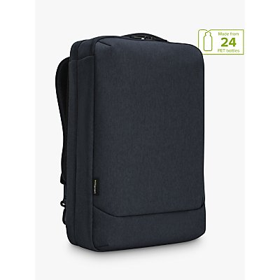 Targus Cypress Convertible Backpack with EcoSmart for Laptops up to 15 6  Navy - 5051794029734