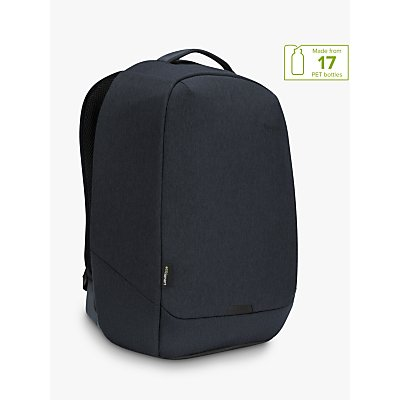Targus Cypress Security Backpack with EcoSmart for Laptops up to 15 6  Navy - 5051794029765