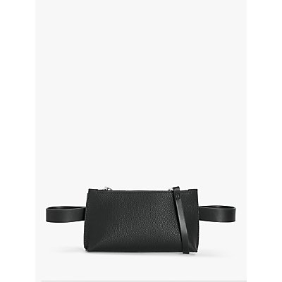 Kin Sadi Cross Body Belt Bag, Black