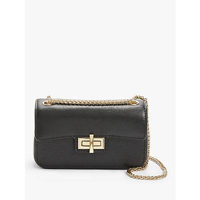 DKNY Jojo Leather Flap Cross Body Bag