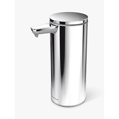 simplehuman Touch Free Rechargeable Sensor Soap Dispenser - 838810020426