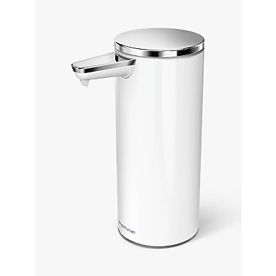 simplehuman Touch Free Rechargeable Sensor Soap Dispenser - 838810020433