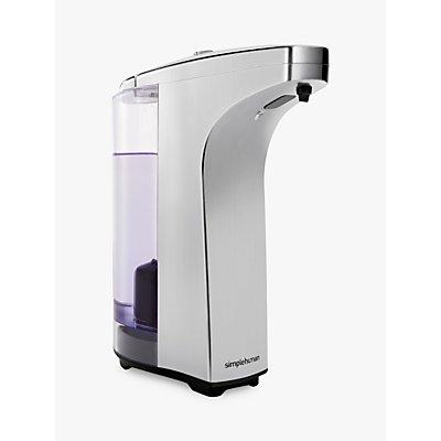 simplehuman Compact Sensor Dispenser with Soap - 838810015248