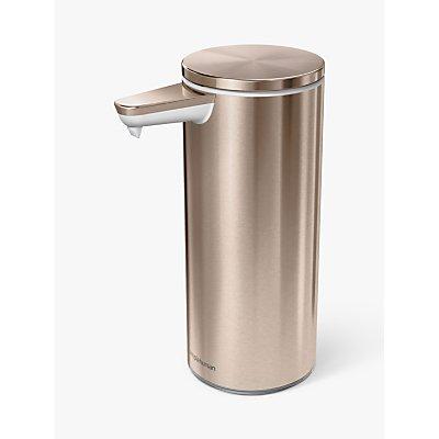 simplehuman Touch Free Rechargeable Sensor Soap Dispenser - 838810020440