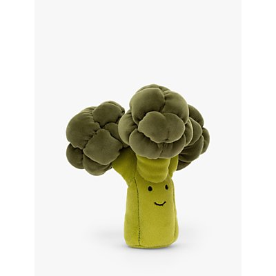 Jellycat Happiest Broccoli Soft Toy, Medium
