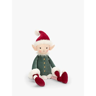Jellycat Leffy Cheeky Elf Soft Toy, Really Big