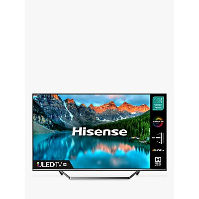 Hisense 55U7QFTUK (2020) ULED HDR 4K Ultra HD Smart TV, 55 inch with Freeview Play & Dolby Atmos, Black