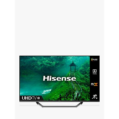 Hisense 55AE7400FTUK (2020) LED HDR 4K Ultra HD Smart TV, 55 inch with Freeview Play, Black