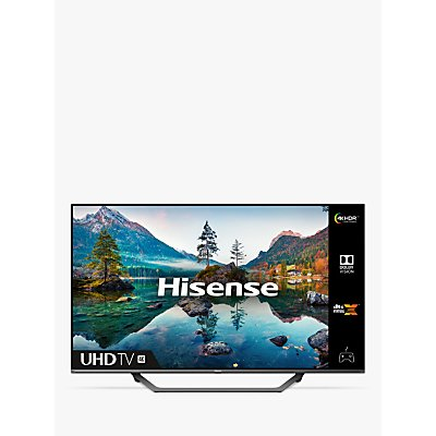 Hisense 43A7500FTUK (2020) LED HDR 4K Ultra HD Smart TV, 43 inch with Freeview Play, Black