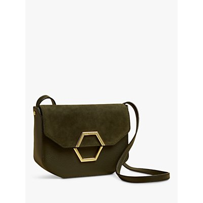 Ted Baker Lenah Leather Suede Cross Body Bag